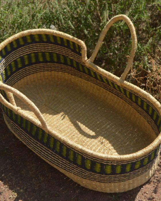 baby moses basket - baby cribs - nursery baskets from bolga ghana
