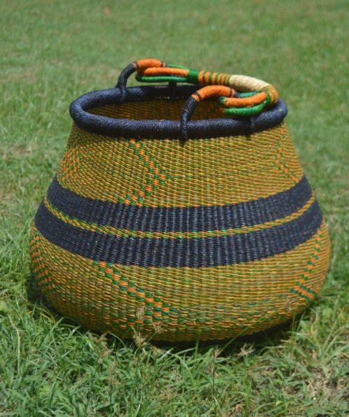 large pot bolga basket - bolga pot baskets