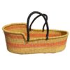 baby bed moses basket bassinet handmade straw ghana wholesale