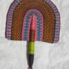 bolga fans hand fans handwoven bolga wholesale pink purple green color fan worldwide
