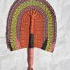 pink hand held fan bolga fans straw fans bulk wholesale bolga basket fans supplier