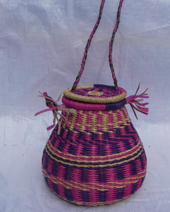 honey pot basket bolga baskets african ghana handmade luxury bags wholesale
