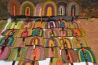 fans handmade fans straw fans bolga fans